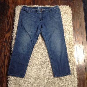 Mossimo Skinny Boyfriend Jeans Size 18